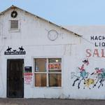 Hachita Liquor Saloon, once the Desert Den Bar, Hachita, New Mexico, junction routes 146 & 9 (BH 157)